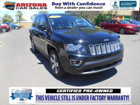 Certified Pre-Owned 2016 Jeep Compass Latitude FWD Sport Utility