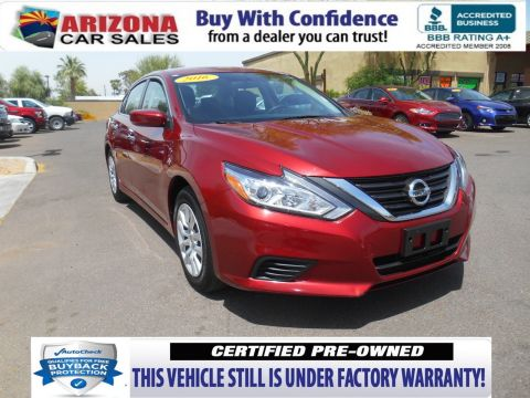 Certified Pre-Owned 2016 Nissan Altima 2.5 FWD 4dr Car