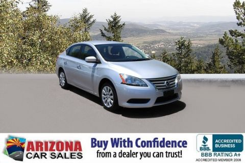 Certified Pre-Owned 2015 Nissan Sentra SV FWD 4dr Car
