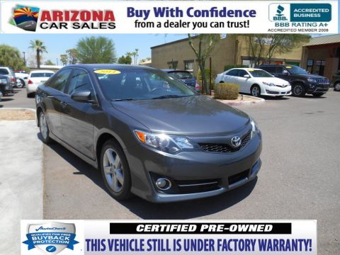 Certified Pre-Owned 2014 Toyota Camry SE FWD 4dr Car