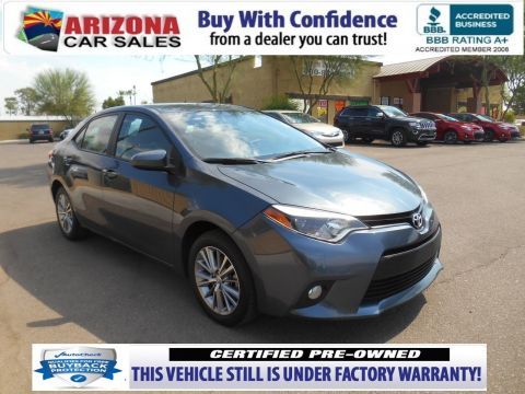 Certified Pre-Owned 2014 Toyota Corolla LE Plus FWD 4dr Car