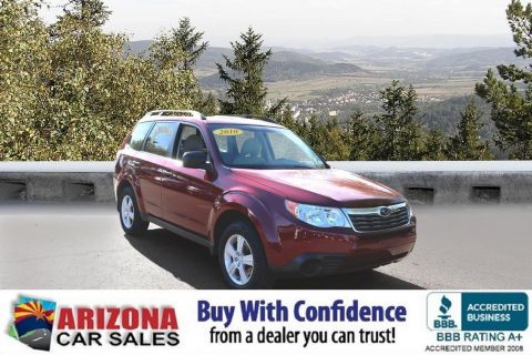 Certified Pre-Owned 2010 Subaru Forester 2.5X AWD