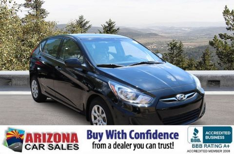 Certified Pre-Owned 2014 Hyundai Accent GS FWD Hatchback
