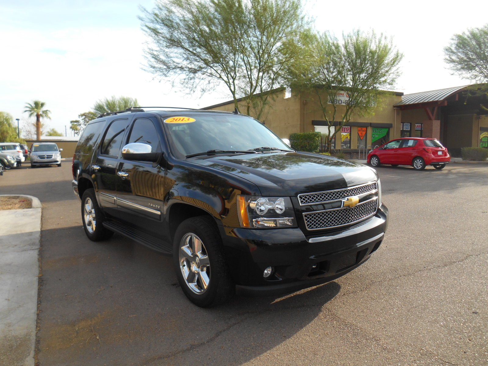 Certified pre owned 2013 chevrolet tahoe ltz