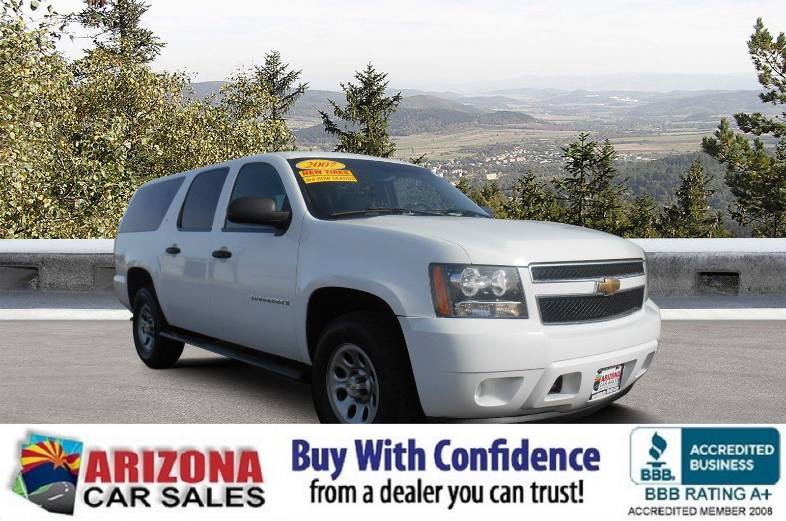 Certified Pre-Owned 2007 Chevrolet Suburban Commercial