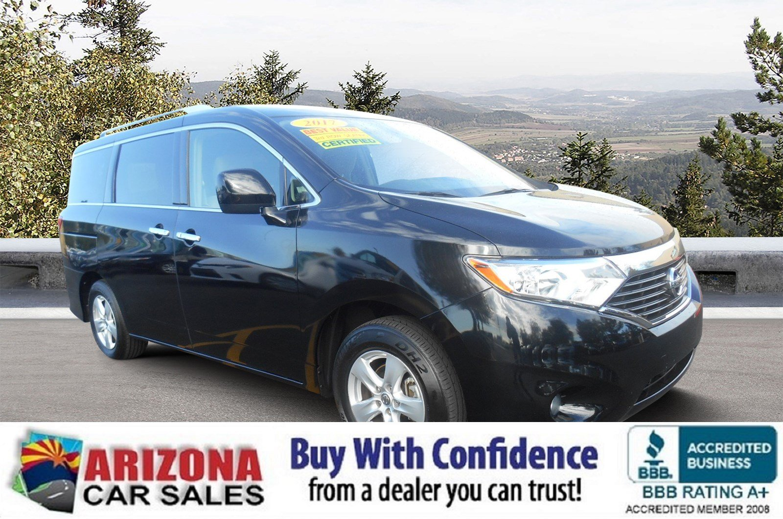 Certified Pre-Owned 2017 Nissan Quest SV